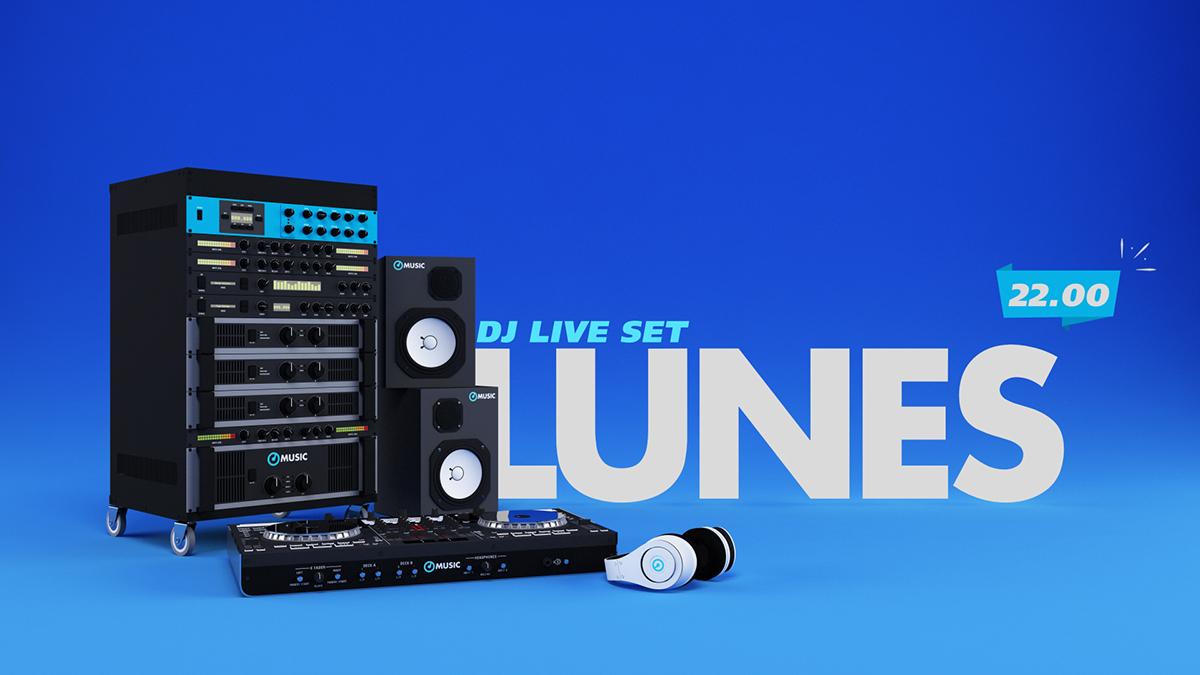 Music Channel Branding on Behance
