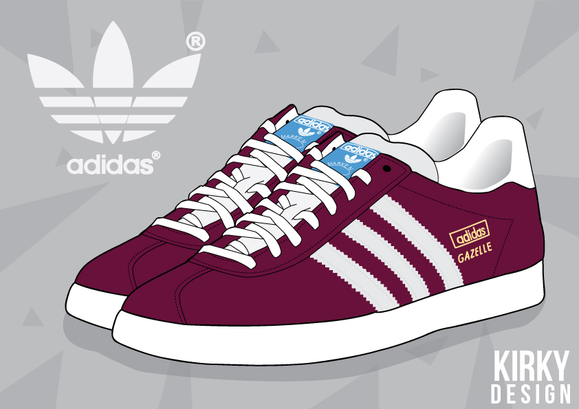 Talisman & Co. | Adidas Gazelle | Kirky Design