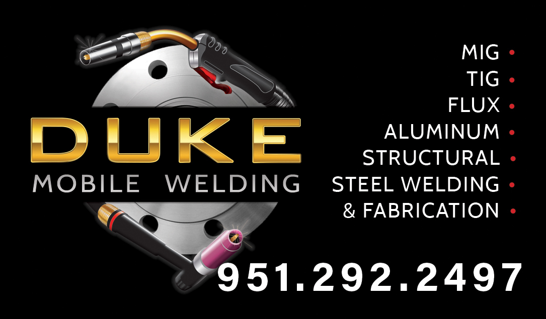 Logo Design & Business Card - Duke Mobile Welding on Behance