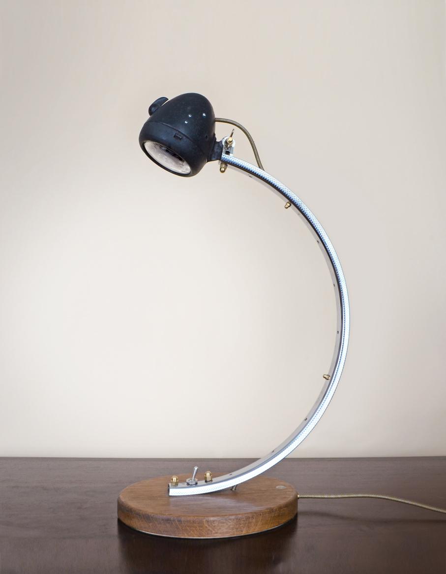 Adobe Portfolio bicycle light bicycle lamp  upcycling lightcycle Desk lamp Cycling Bosch cycling lamp Cycling Light cycle light