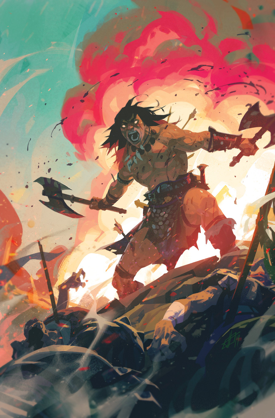 Conan The Barbarian 13 Cover On Behance