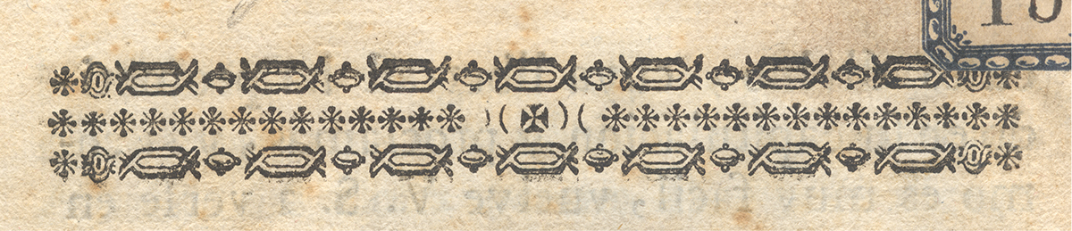 tipografia ornamentos ornaments type design