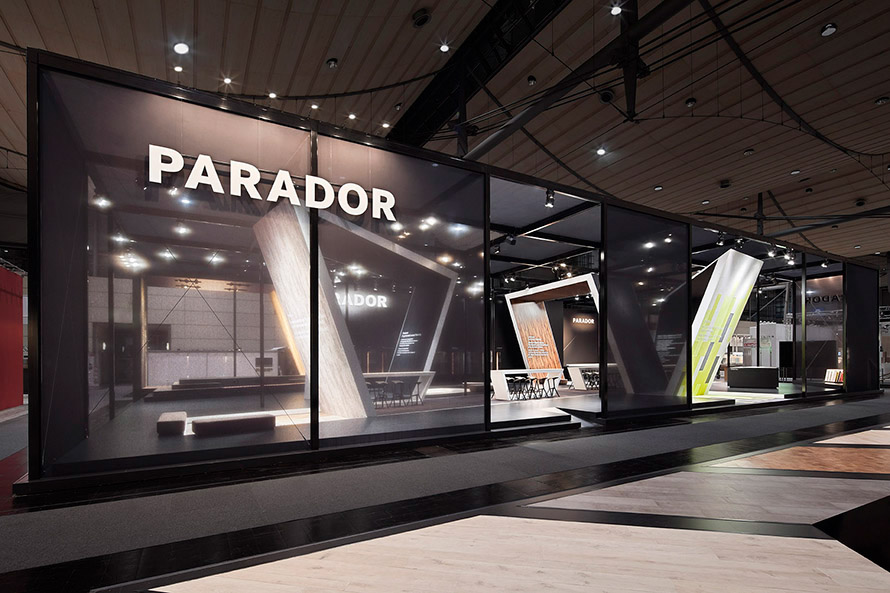 parador domotex 2014 in hannover on behance. Black Bedroom Furniture Sets. Home Design Ideas