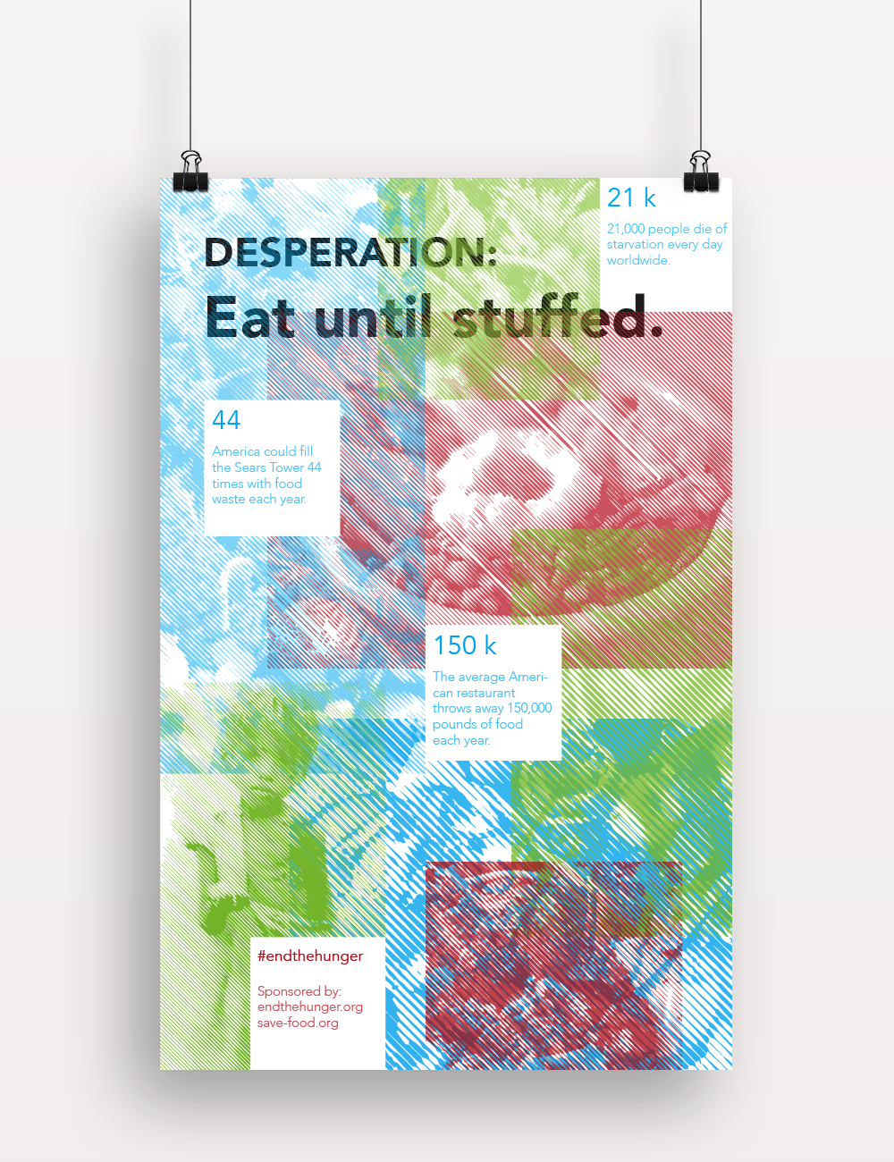 Poster Offensive Poster Design poster 'graphic Design' 'typography' 'print design' hunger offensive campaign world issues