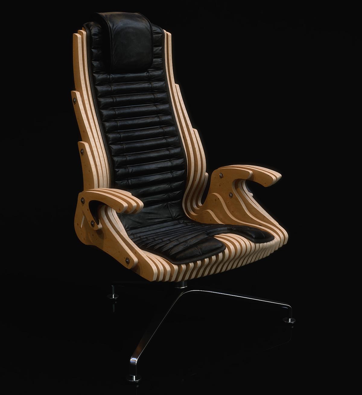 сonсept offiсе сhair,parametric design,parametric chair