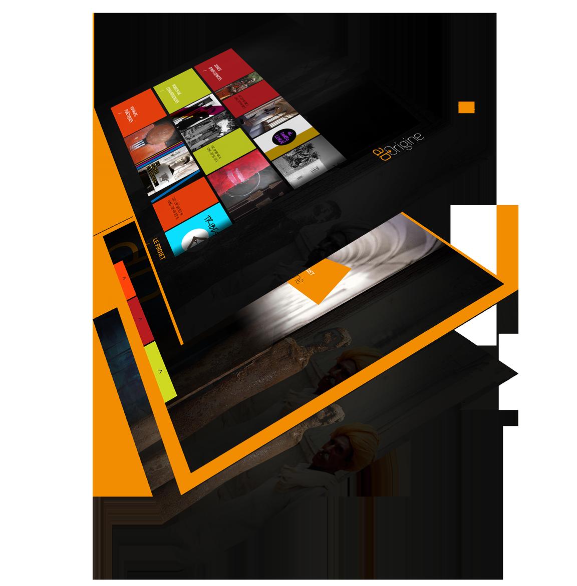 Application PandaSuite expérience interactive application immersive