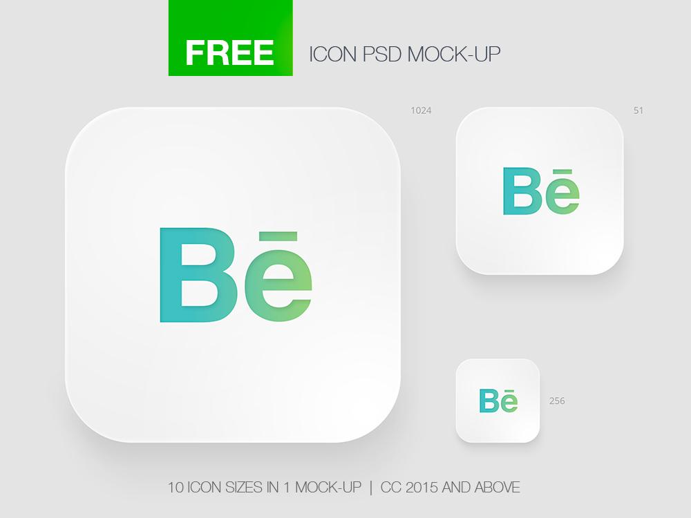 Free Icon App Mock Up On Behance