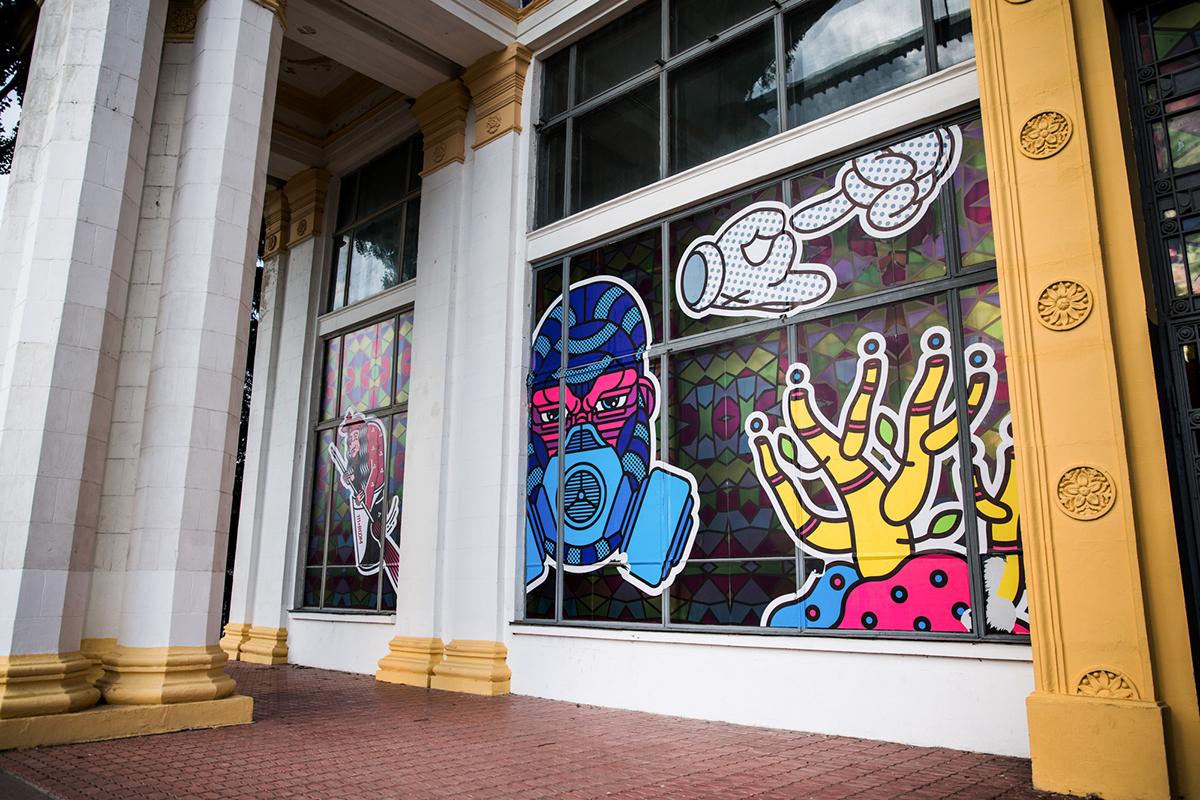 Street Art  ILLUSTRATION  Graffiti