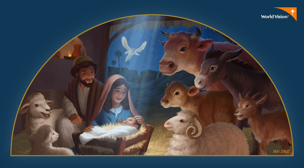 World Vision Christmas Card Nativity On Behance