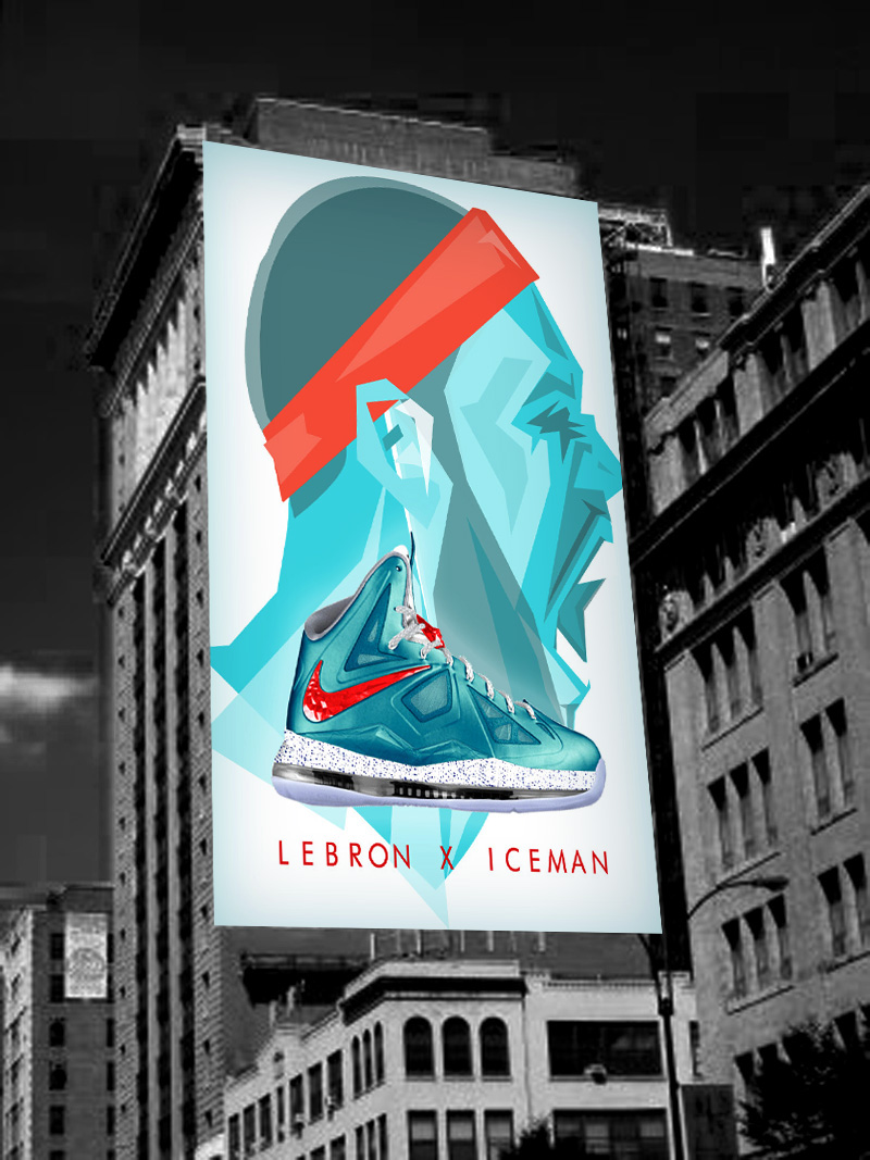 LeBron James X ICEMAN
