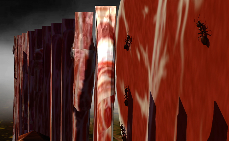Adobe Portfolio surrealism dali Cecropia art