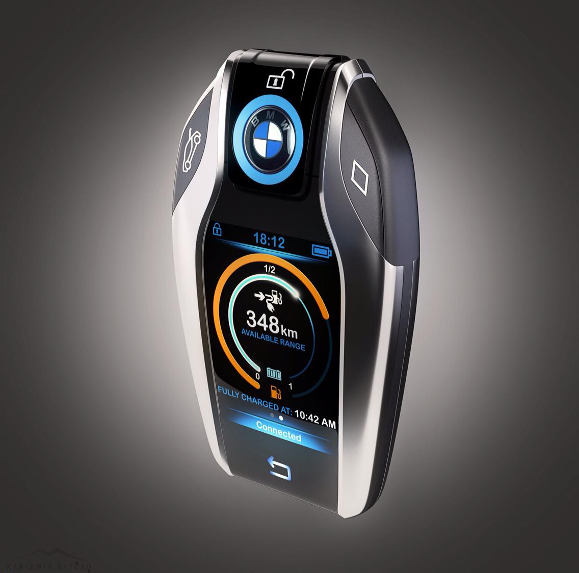 Bmw I8 Smart Key Fob On Behance