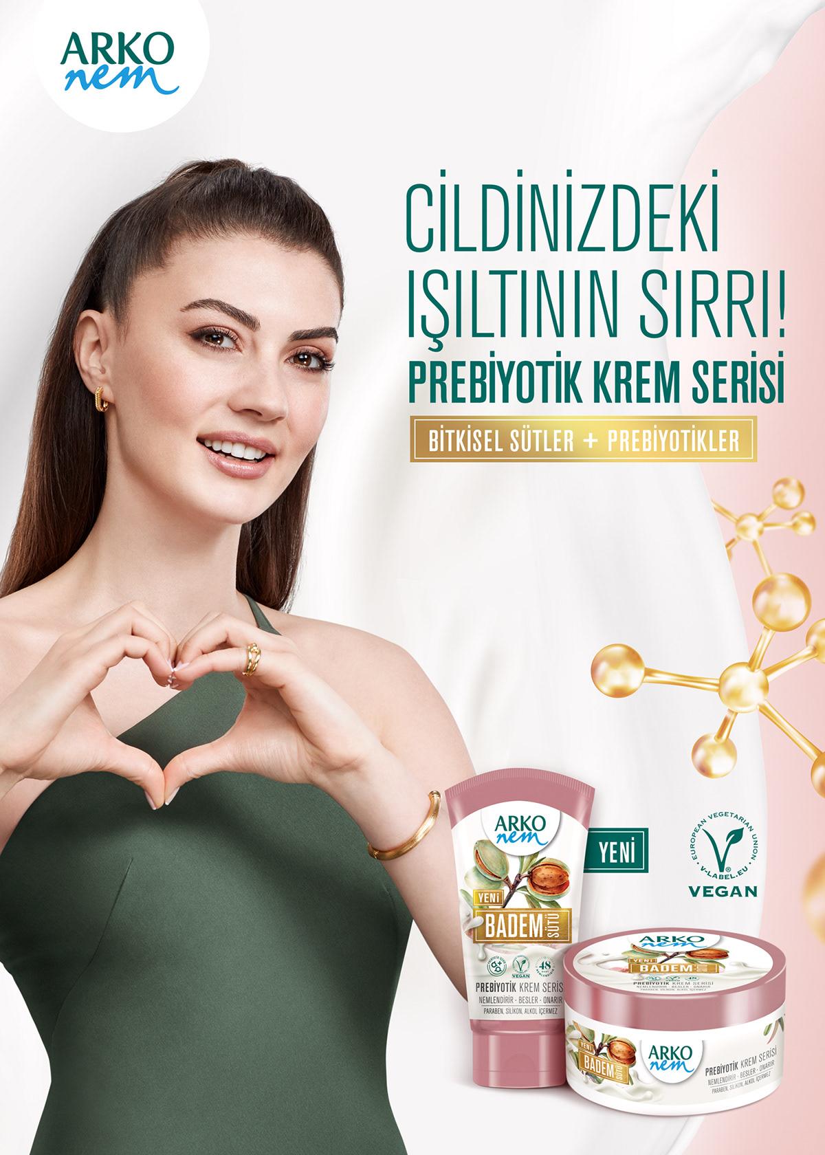 arko arko nem burcu ozturk commercial Cosmetic cream Leo Burnett
