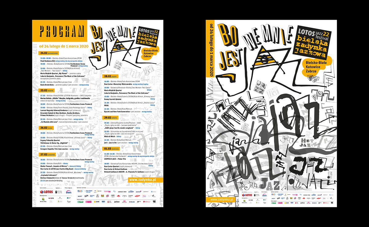 lotos jazz typografia Zadymka
