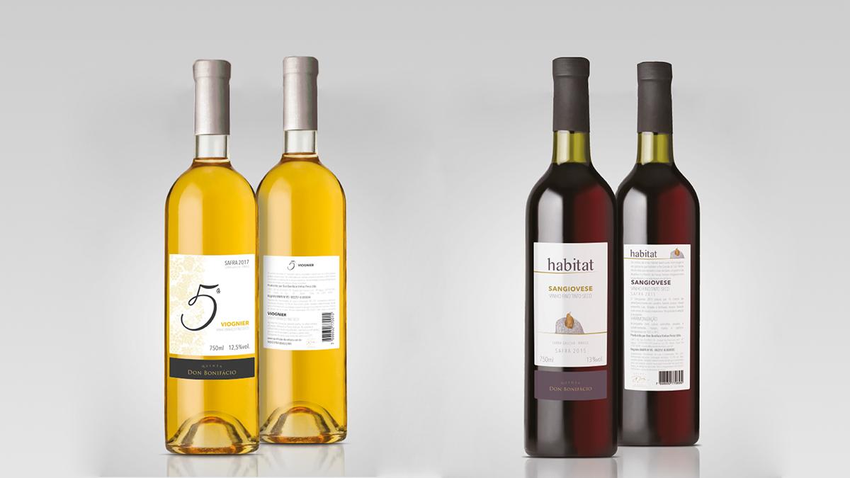 marca branding  wine Mockup embalagem package Stationery