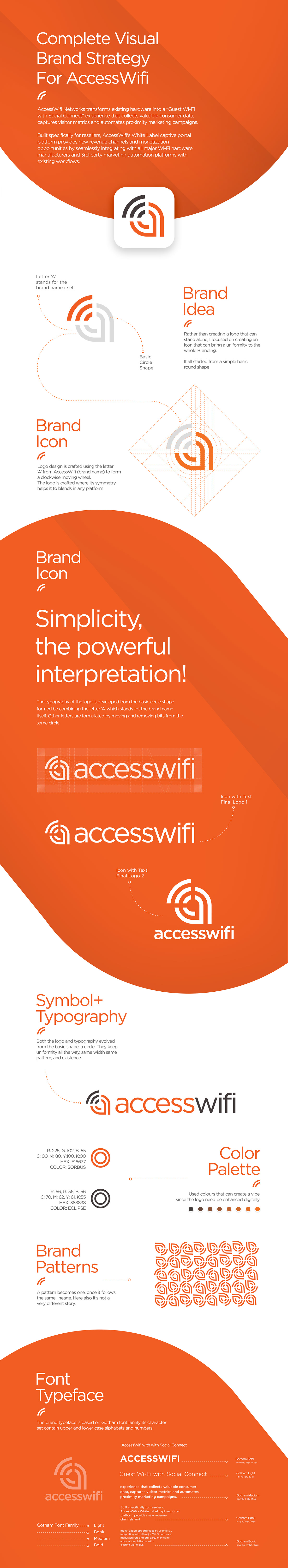 Access Wifi - Branding Proposal on Student Show