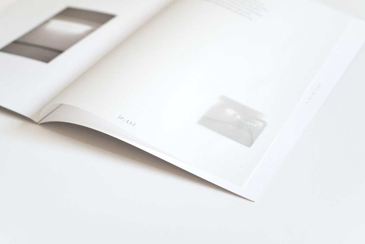 livre book design souterrain Montreal typography   booklets underground intervalles mood