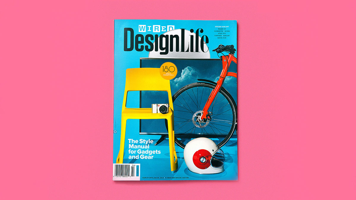 WIRED Design Life on Behance