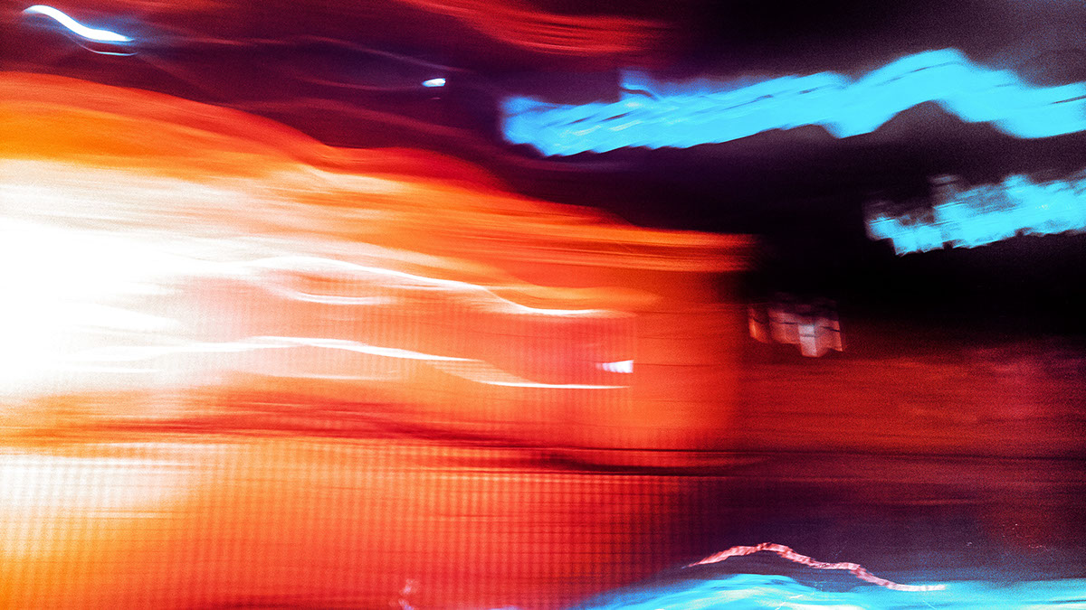 long exposure vibrant mobile motion abstract lights