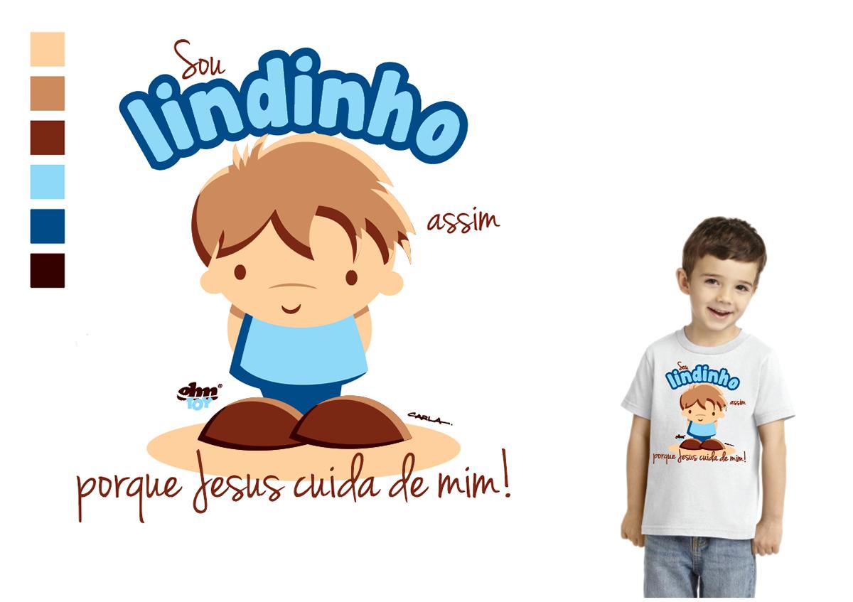 camisetas tshirt infantis menino Menina toyart chibi cartoon infantil silk screen