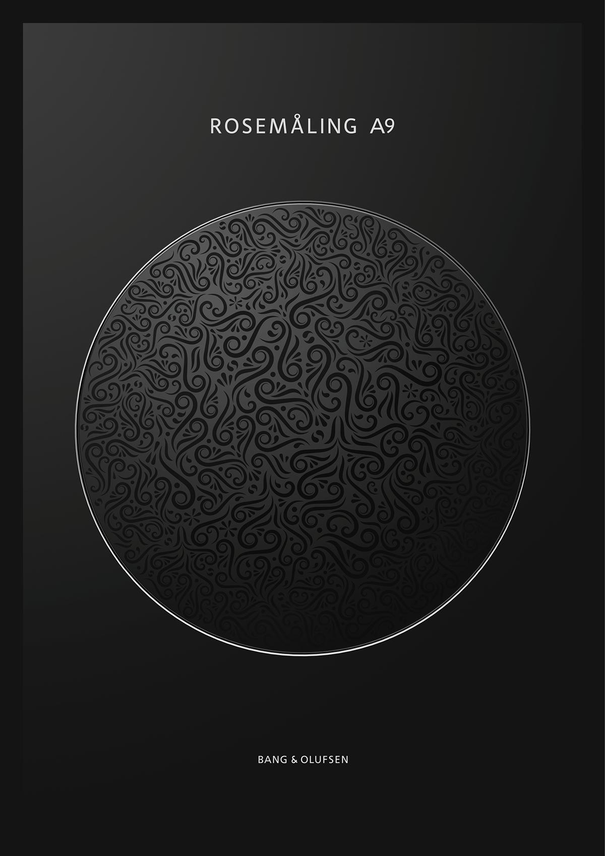 bang olufsen a9 special edition rosem ling on behance. Black Bedroom Furniture Sets. Home Design Ideas