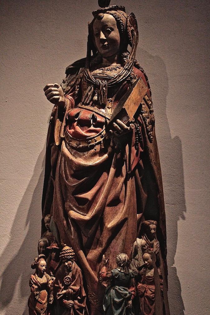 Netherlands utrecht Catharijneconvent Museum sculpture Luso-Brazilian Encounters Alessandro Zir christ