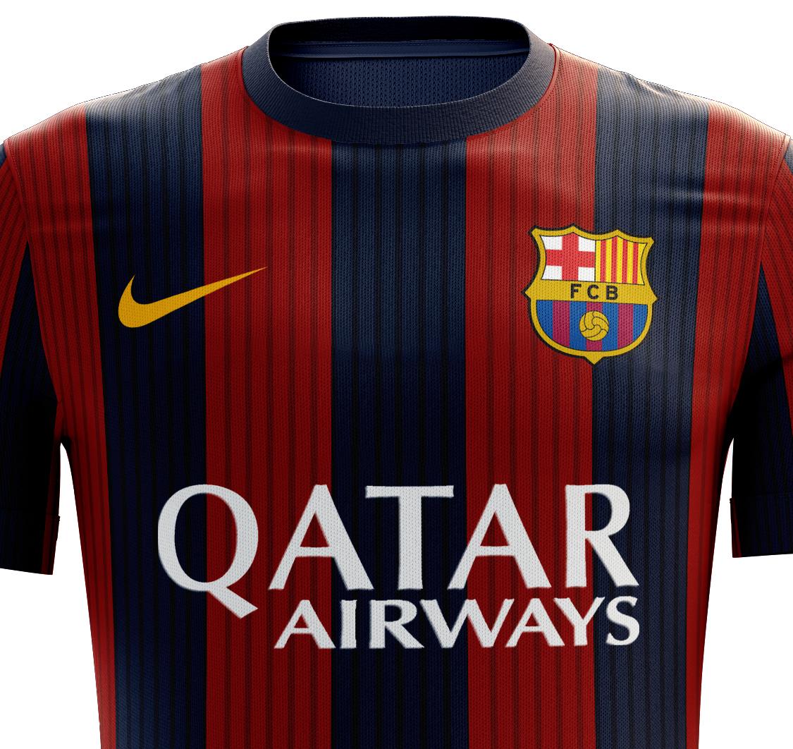 I designed football kits for Fc Barcelona for the upcoming season 16 17. 111963f36ea