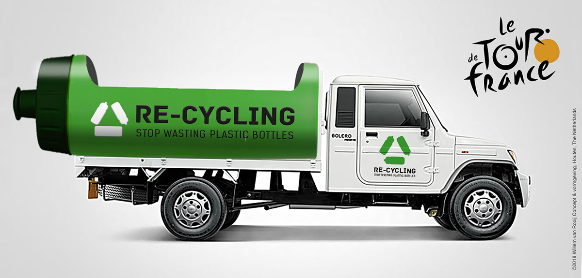 stopplastic plastic tourdefrance environment pollution Cycling recycle