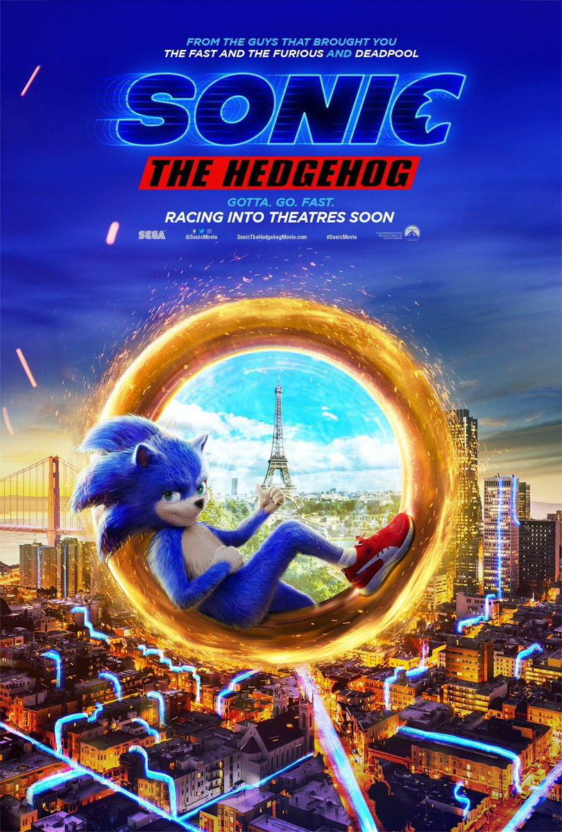 Sonic The Hedgehog Key Art On Behance