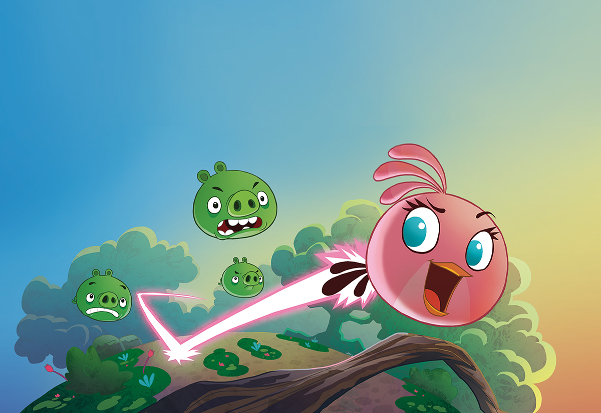 Angry Birds STELLA - the comic book on Behance