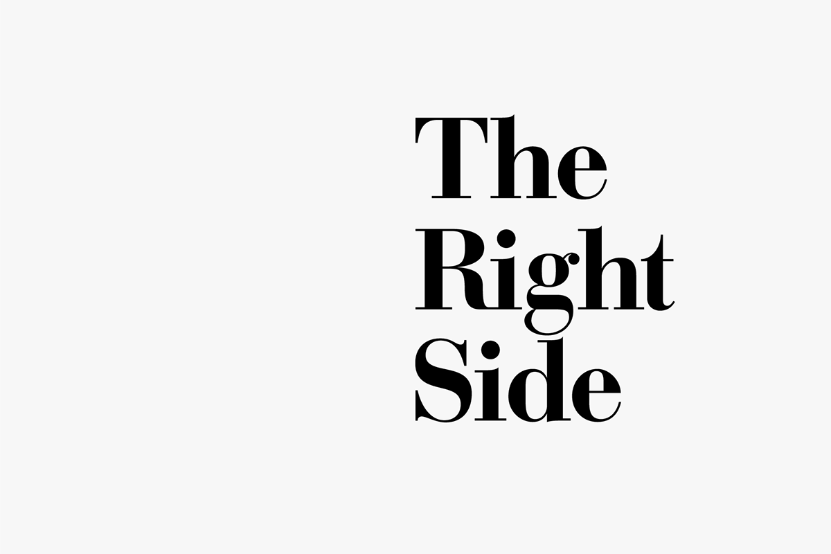 the right side on behance