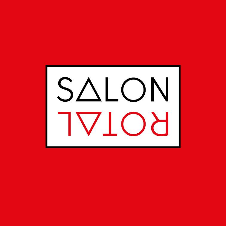 visual style young art red salon yellow Logotype triangel geometry