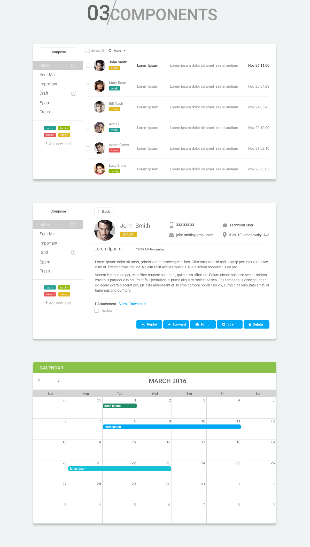 ui kit bootstrap dashboards ui features form elements tables free psd