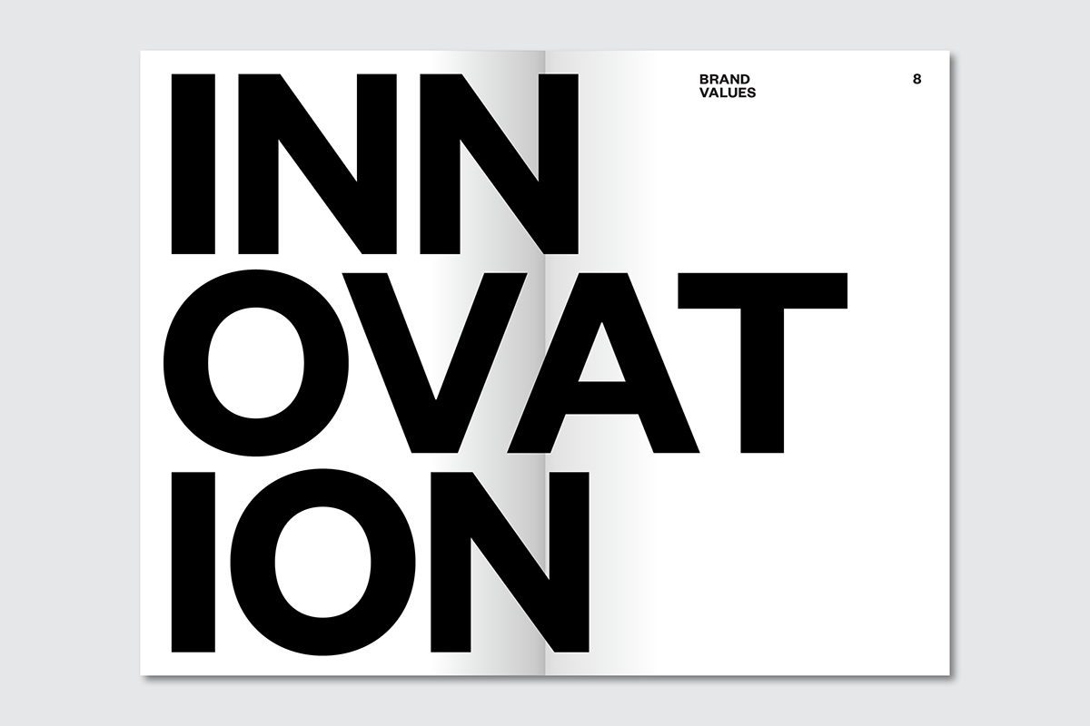 brand manual guidelines publication