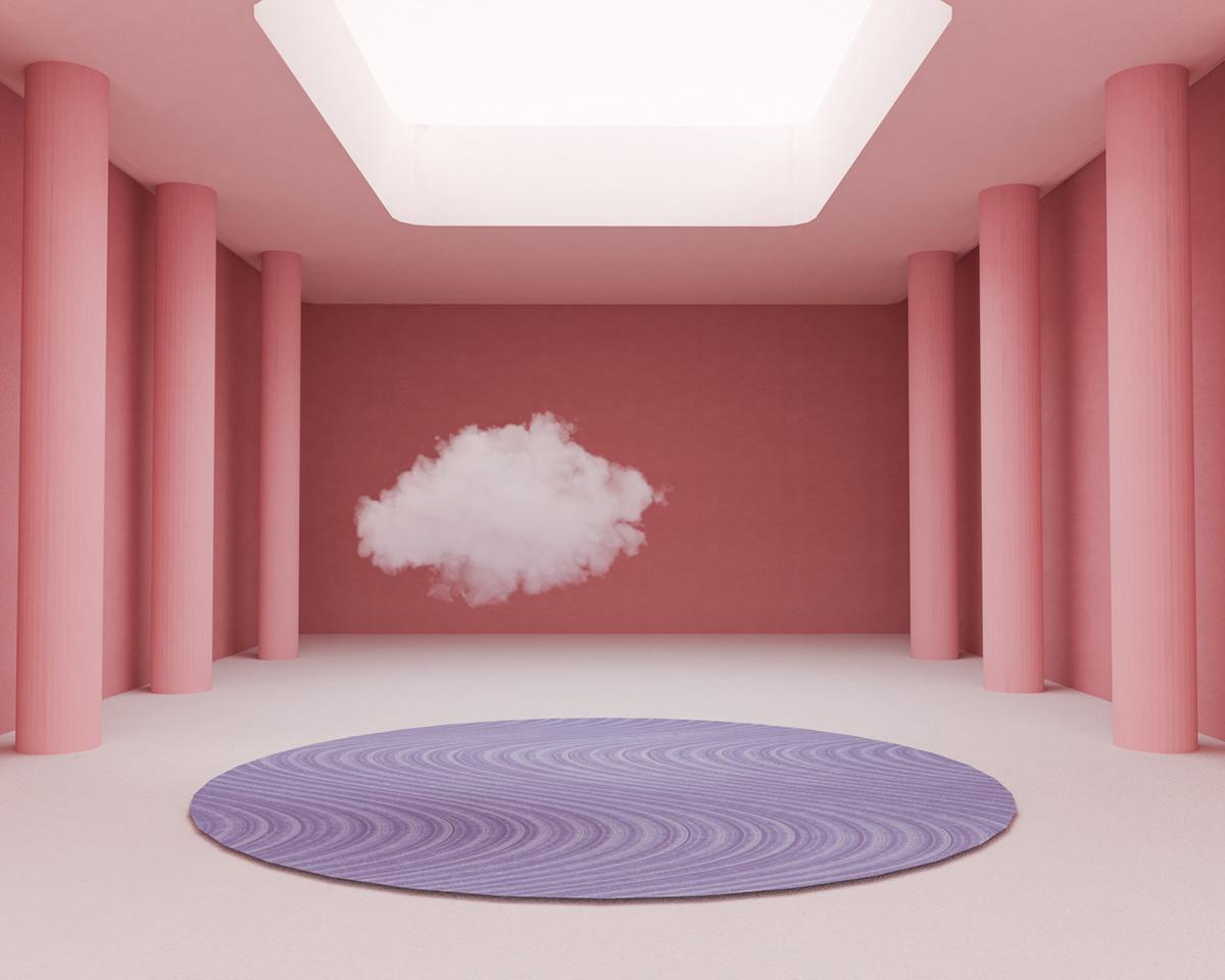 Image may contain: wall and pink