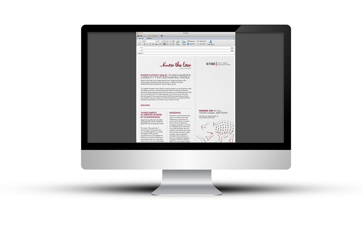 newsletter mailer STBB legal mailer legal updates law