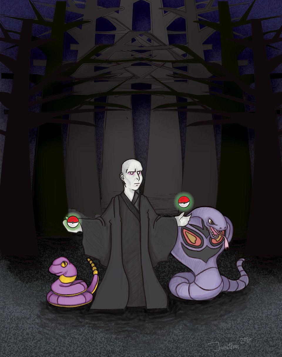 Voldemort the Pokemon Dark Lord on Behance