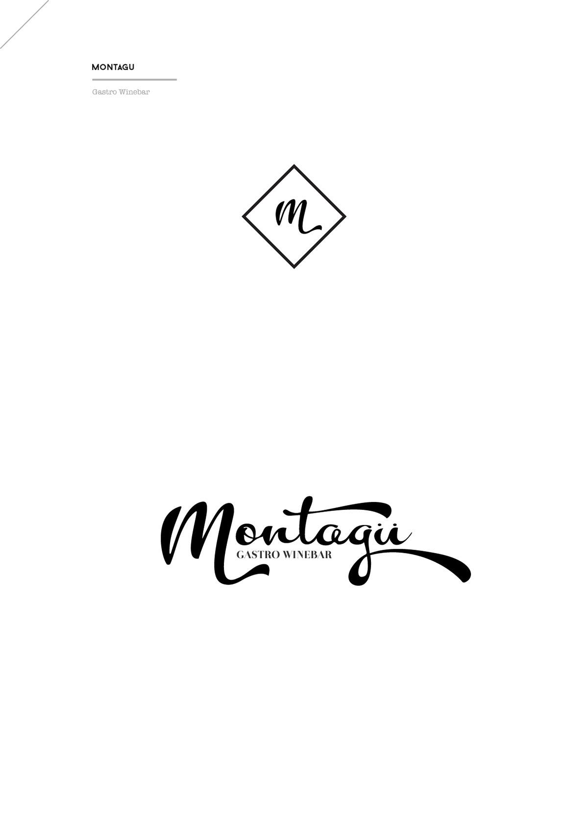 restaurant Webdesign lettering identity print gourmet type Culinary logo visual identity