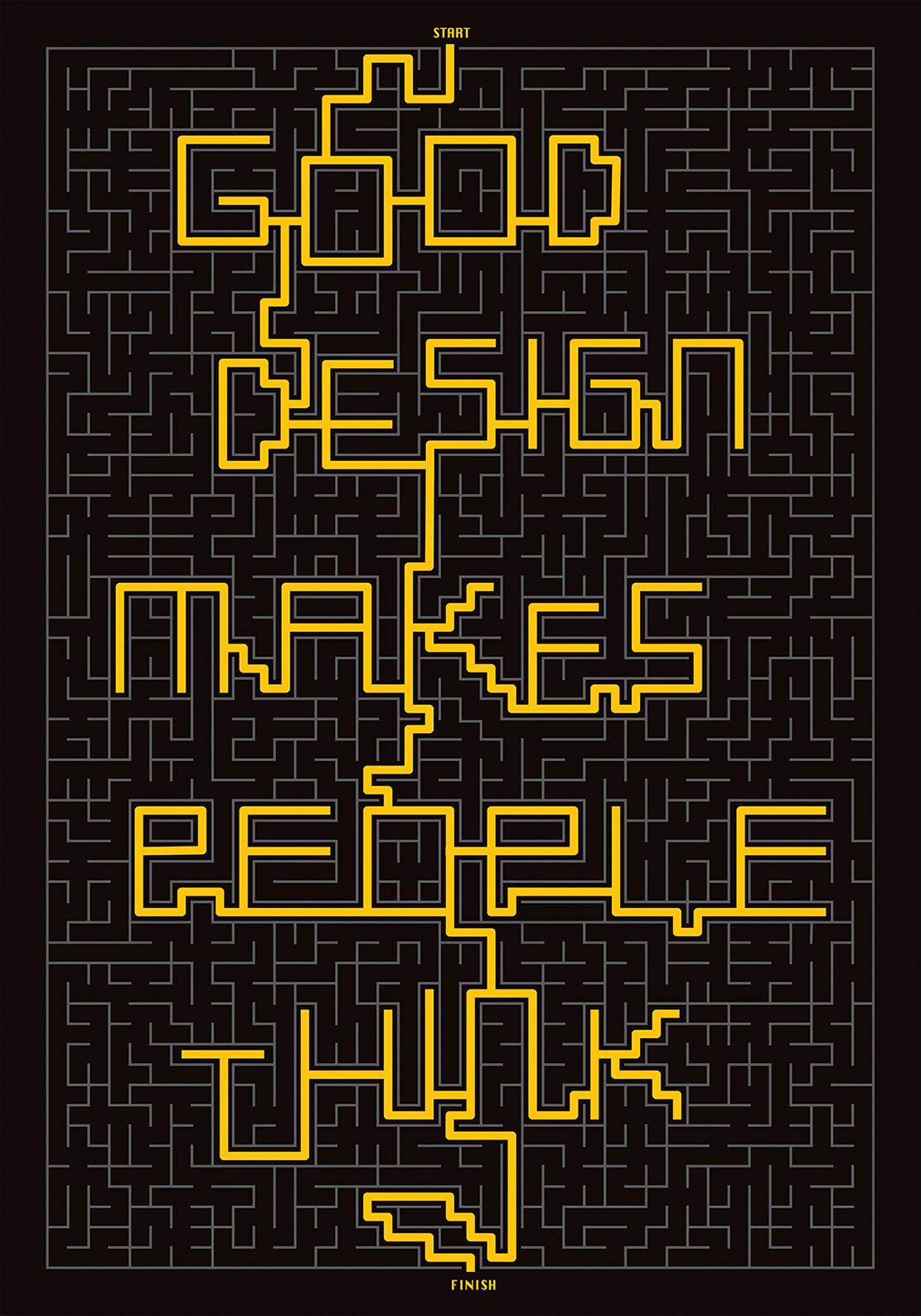 poster graphic design  good design Biennale
