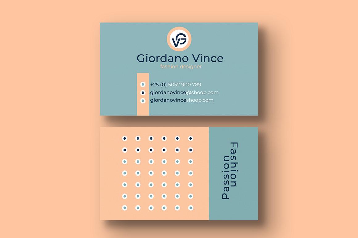 Fashion Designer Business Card On Behance