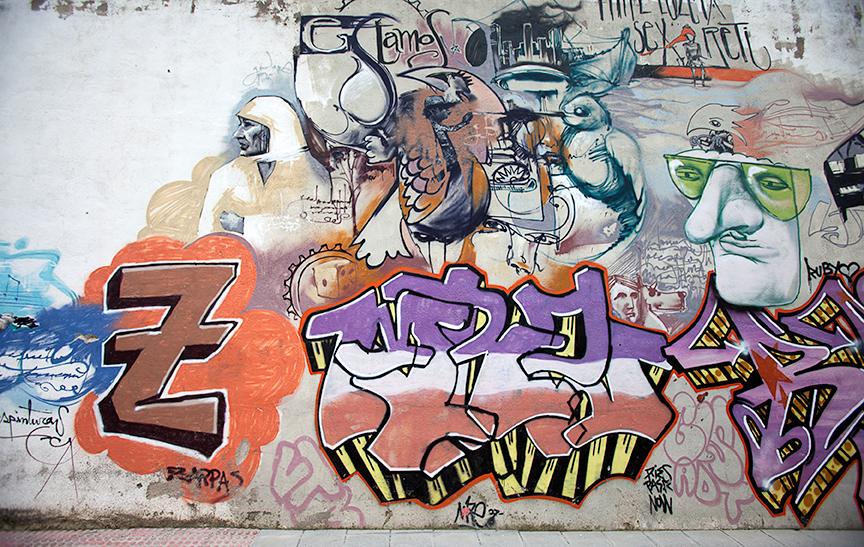 streetart walls granada public art