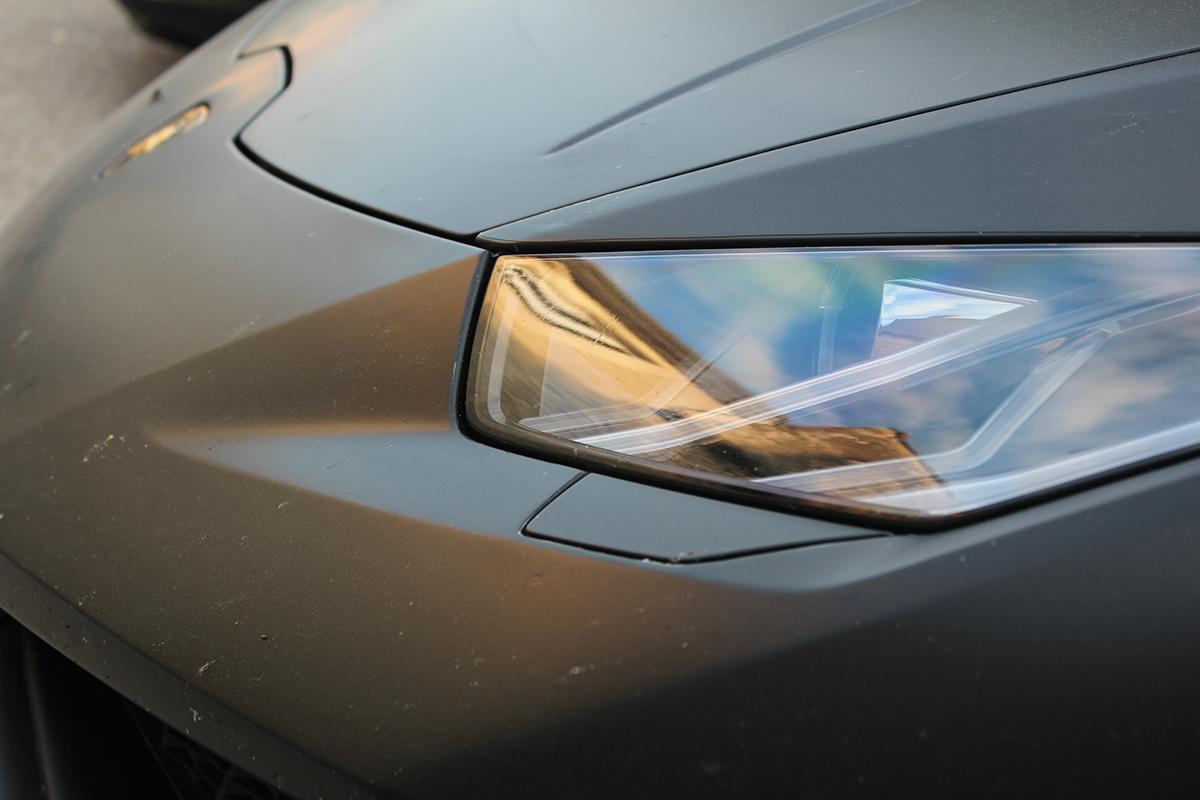 Matte Black Lamborghini Huracan On Behance