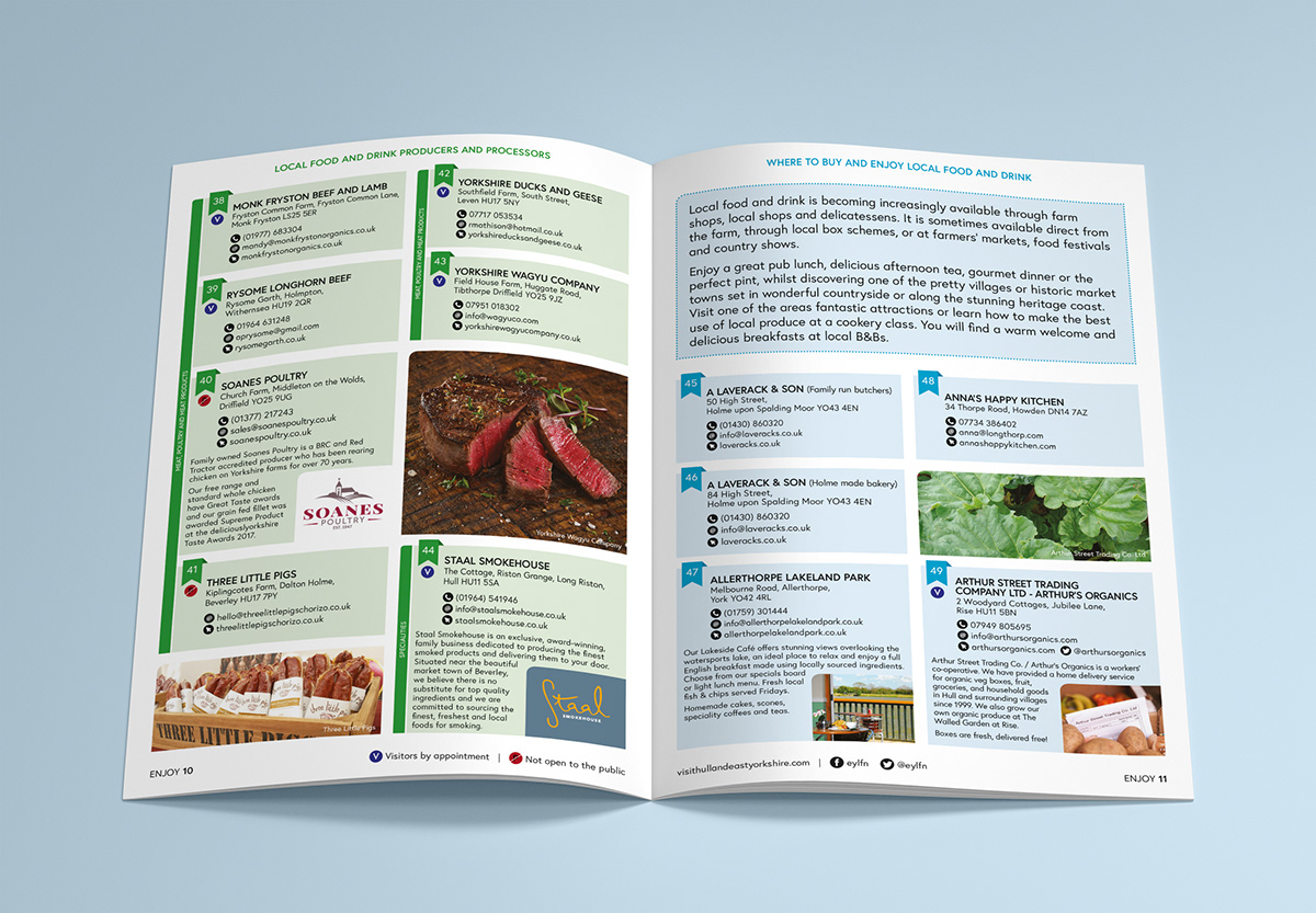 EAST RIDING LOCAL FOOD NETWORK on Behance