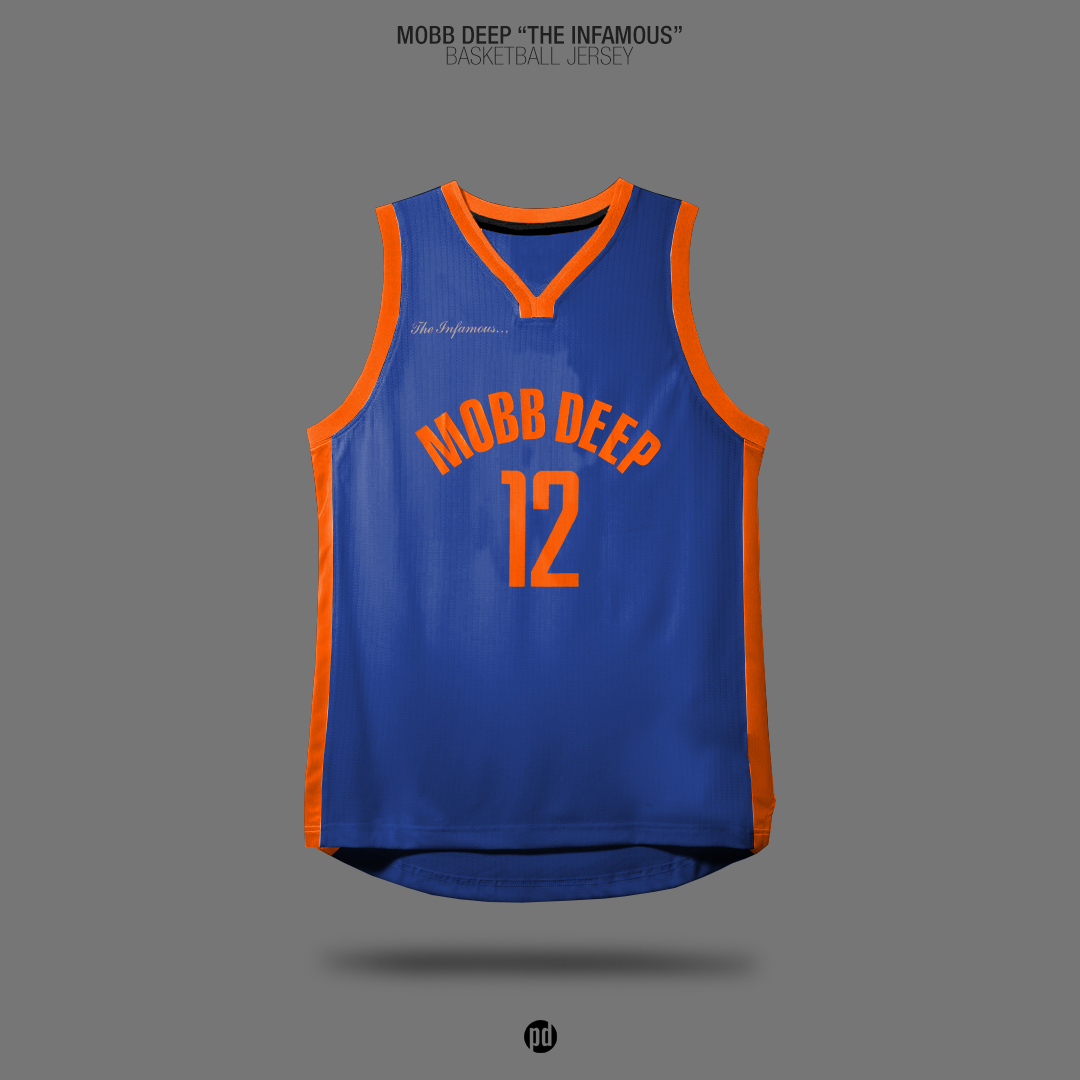 size 40 da26f 2a272 Old School Hip-Hop Albums x Basketball Jerseys on Behance