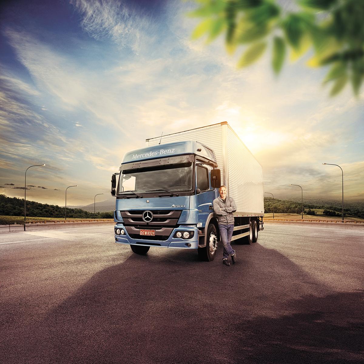 Mercedes-Benz | Dia do Caminhoneiro on Behance