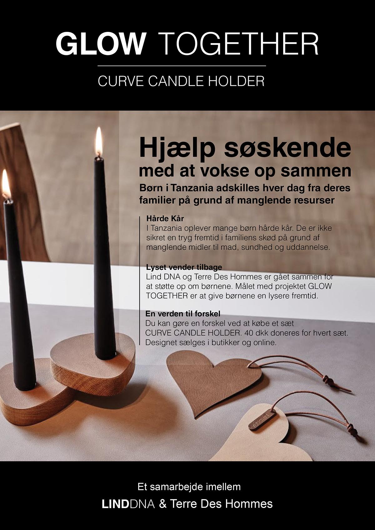 print design graphic banner folder typograhy newspaper Danish Design Sustainable products
