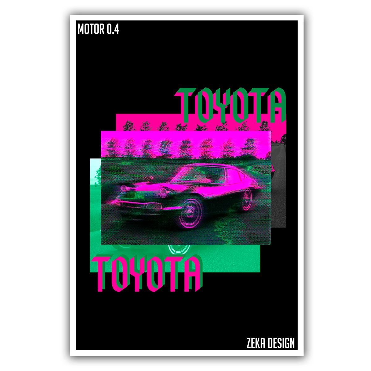 Motor graphic design  poster Poster Design Cars BMW photoshop car