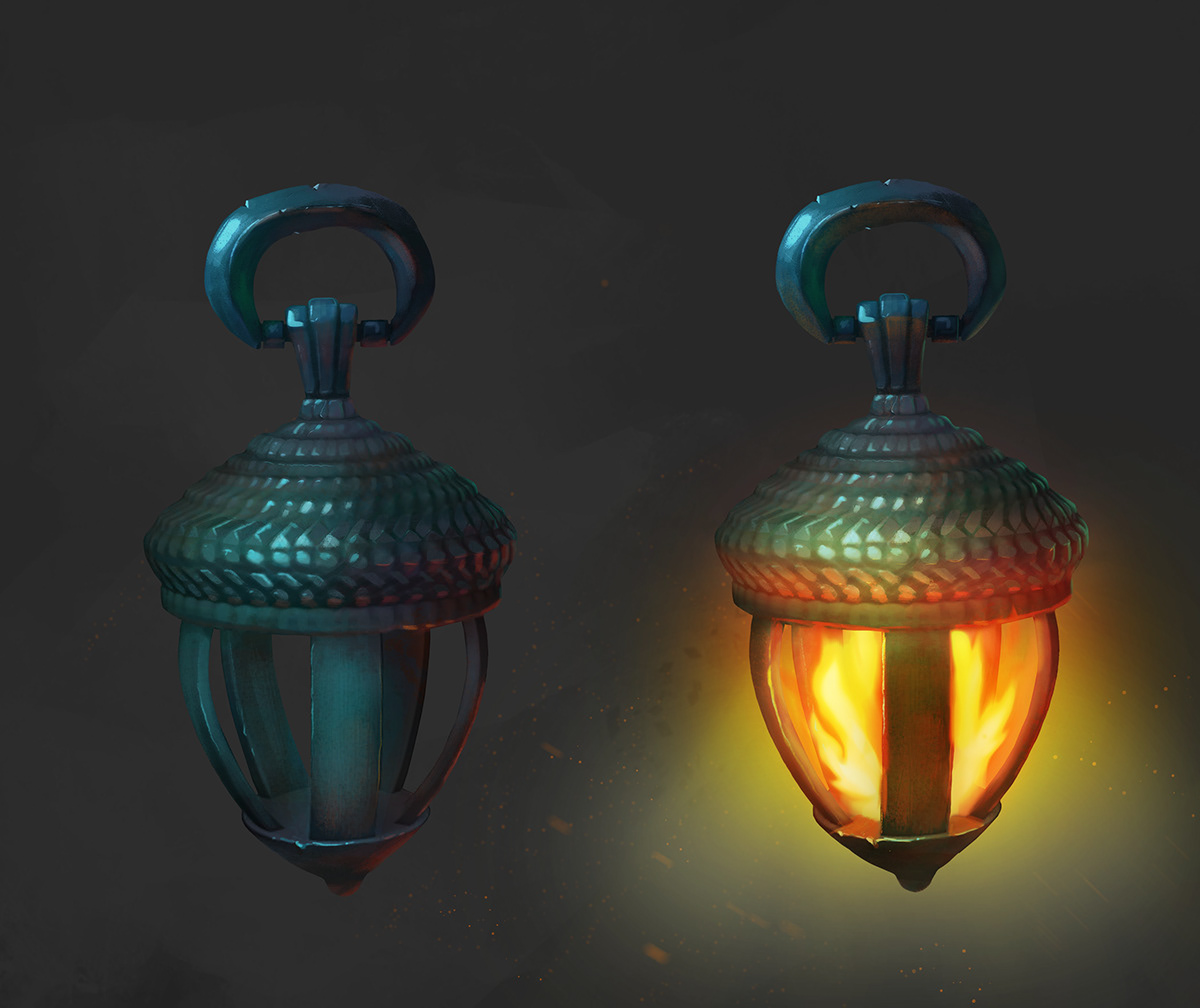 basket lantern light firefly Lamp CG artwork game Items Character