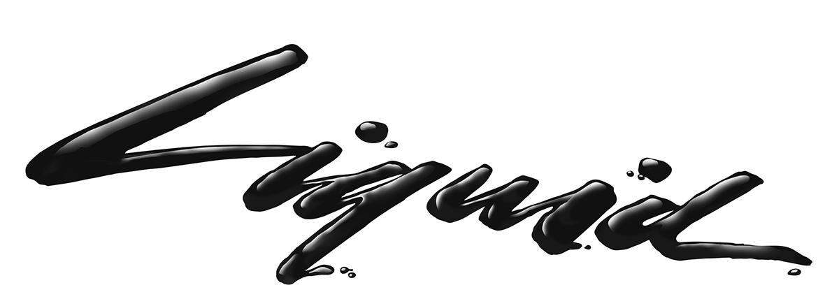 lettering digital lettering type Script neon