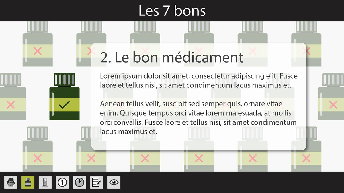 e-learning apprentissage en ligne personnages Icones design graphique